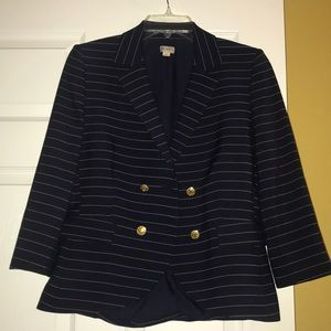 Cremiuex sailor style blazer